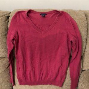 Gap V Neck Sweater Sz L